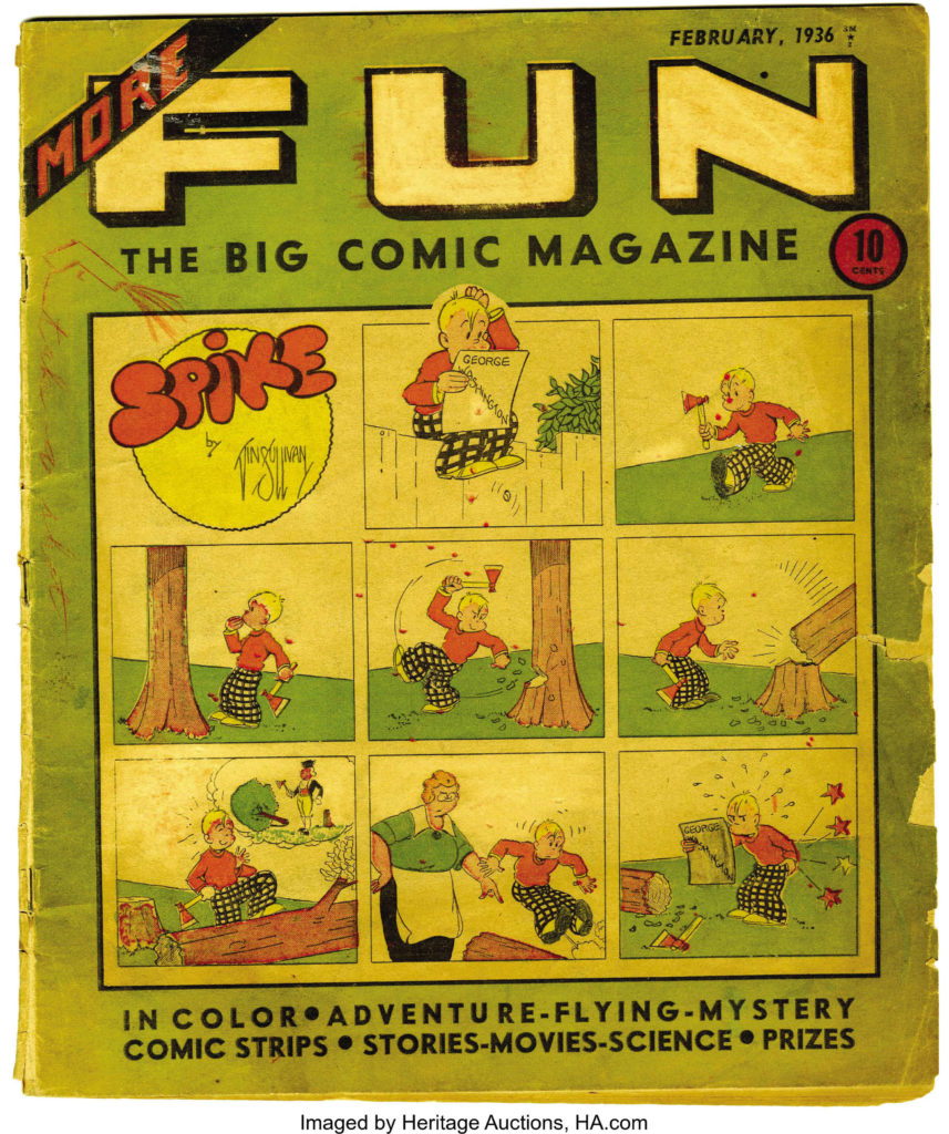 More Fun The Big Comic Magazine