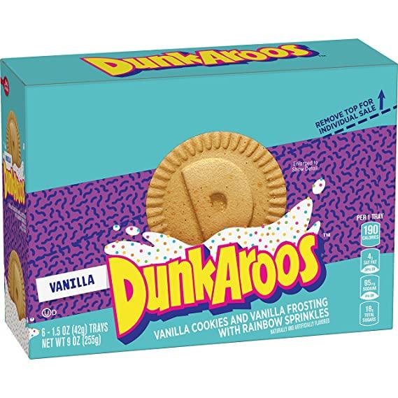 Dunkaroos box