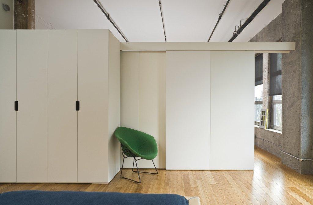 Modern style bedroom interior