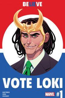 President Loki campaign poster