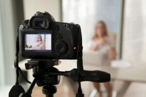 taking video